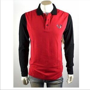 True Religion men's long sleeve polo shirt 3XL
